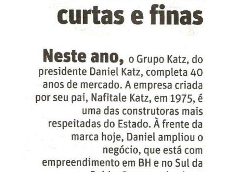 011_Jornal O Tempo : 17 de agosto de 2015