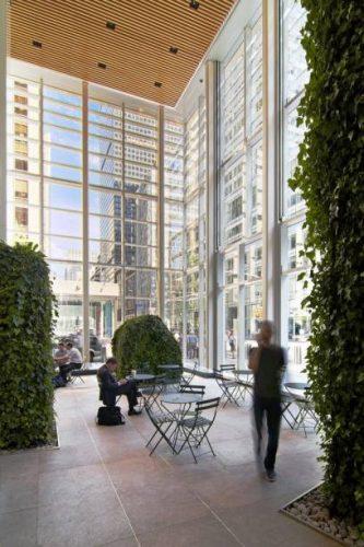 O nova-iorquino referência em arquitetura verde. Foto: Reprodução.
