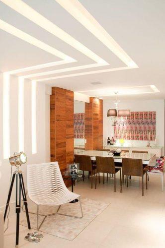 Opção mais moderna de iluminação para ambientes.