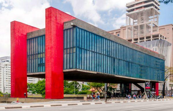 Museu do Masp. Um dos maiores símbolos da arquitetura em São Paulo. Foto: Reprodução.