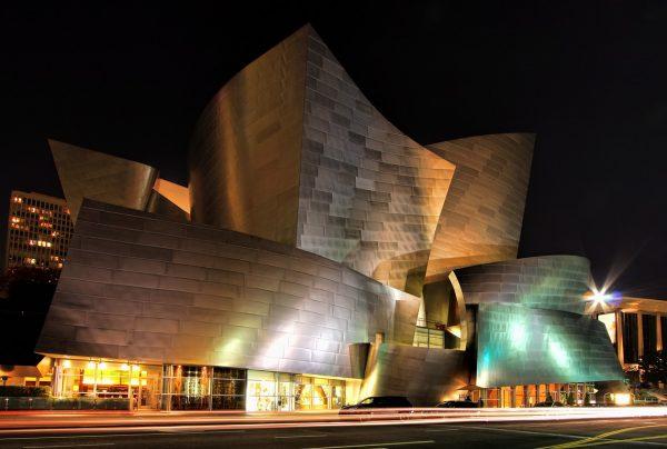 Walt Disney Concert Hall, Los Angeles. Foto: Rennie Jones