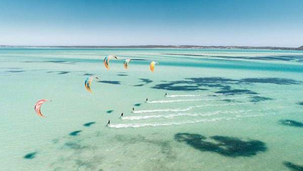 KiteSurf Sharkbay Langebaan Southafrica