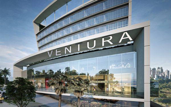 Perspectiva fachada Ventura