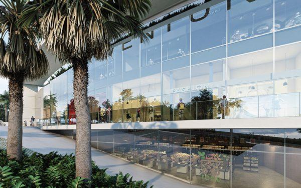 Perspectiva salão lojão Ventura